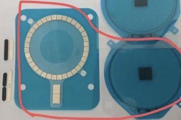 iPhone 12机身新增一圈磁铁,目的直指磁吸无线充电?
