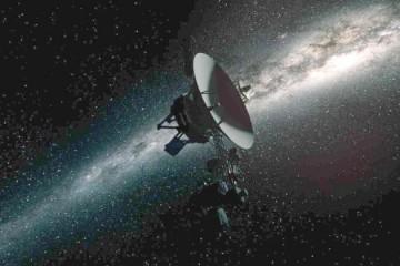 旅行者1号听到星际温柔雨声